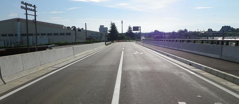 太平大渕線(県道区間)道路改良工事